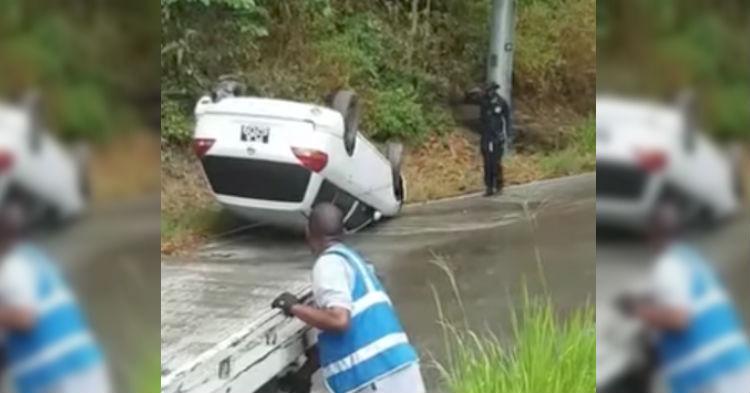 Când o să vezi aceste imagini o să îţi dai seama că acesta este cel mai neexperimentat şofer pe care au putut să îl angajeze.